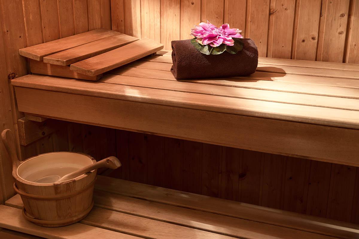 Sauna de l'Hôtel Villa Borghese à Gréoux-les-Bains (04800)