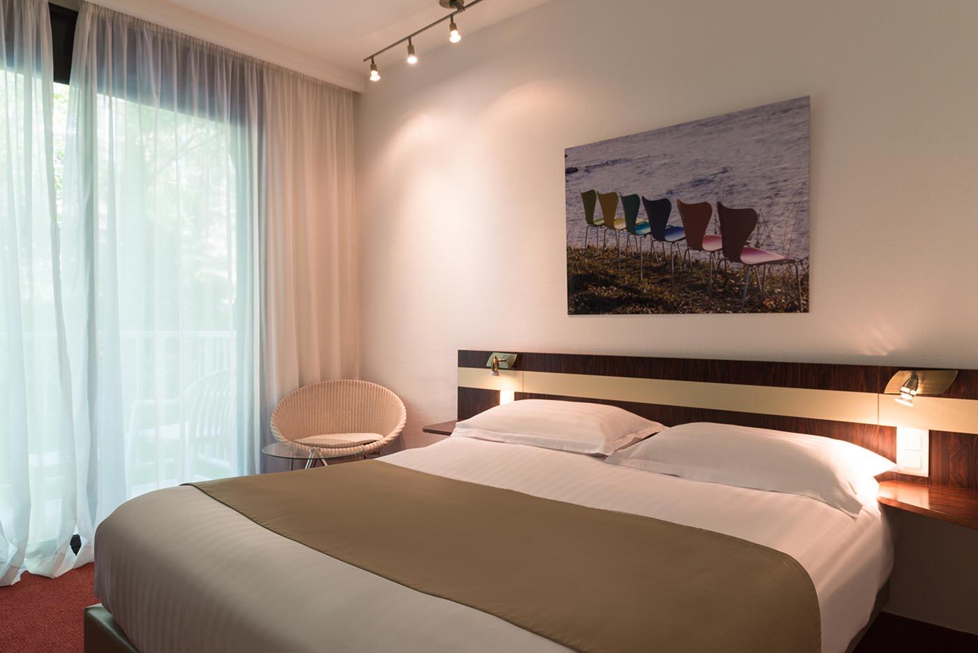 Chambre Standard à l'Hôtel Villa Borghese à Gréoux-les-Bains (04800)