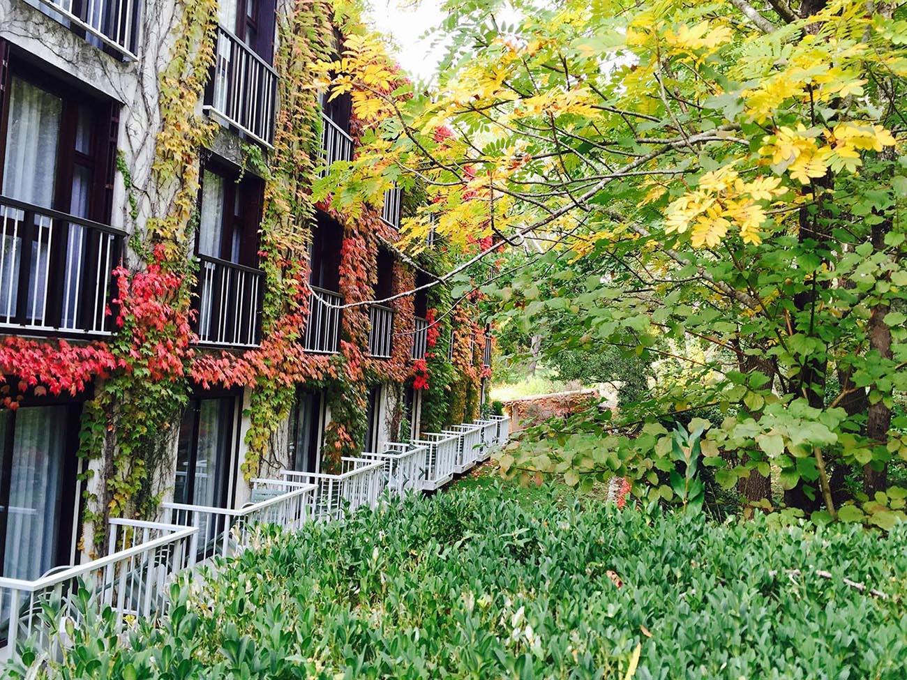 Jardins de l'Hôtel Villa Borghese à Gréoux-les-Bains (04800)